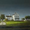 "Bridgehampton Farm, Oil on Linen, 60"" x 48"""